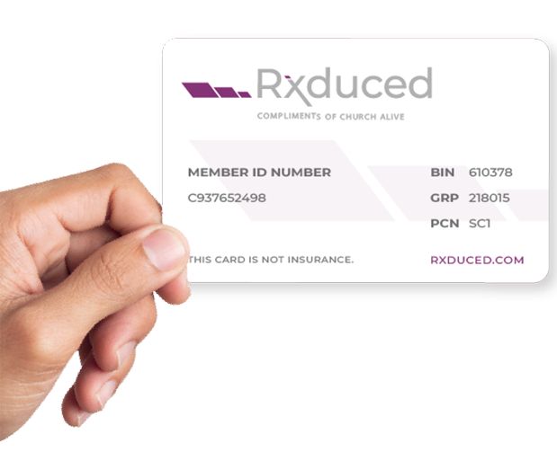Rxduced Card
